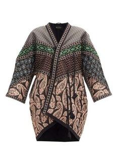 Etro Cynthia bead-embroidered paisley-print jacket