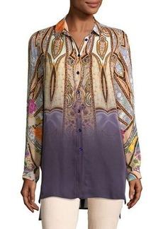 Etro Degrade Paisley Silk Tunic