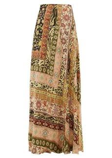Etro Derbyshire leopard-print maxi skirt