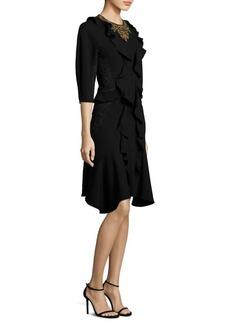 Etro Embellished Ruffle Dress