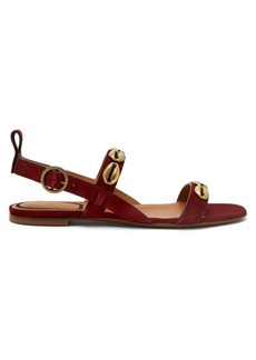 Etro Embellished suede sandals