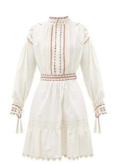 Etro Embroidered cotton dress