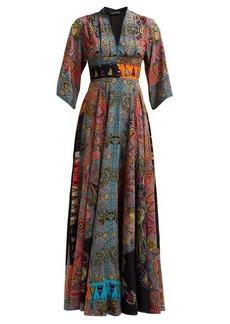 Etro Envision sequinned silk-crepe dress