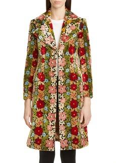 Etro Floral Chenille Jacquard Coat