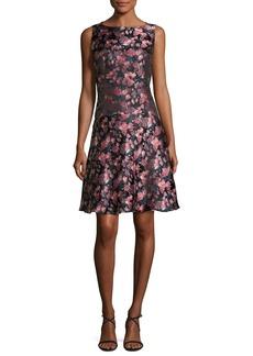 Etro Floral Jacquard A-Line Dress