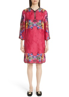 Etro Floral Jacquard Shift Dress