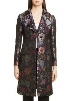 Etro Floral Jacquard Three-Quarter Jacket