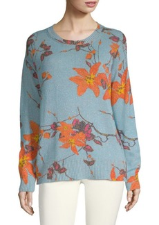 Etro Floral-Knit Sweater