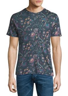 Etro Floral Linen T-Shirt