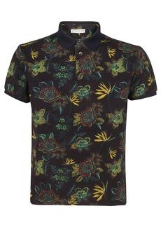 Etro Floral Printed Polo Shirt