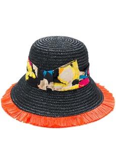 Etro floral strap hat - Black