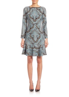 Etro Flounce Studded Minidress
