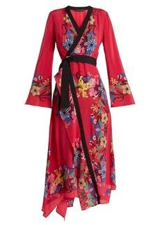 Etro Fluorite printed silk dress