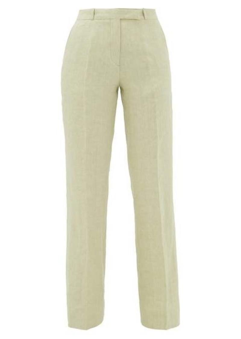 Etro Fuji linen trousers