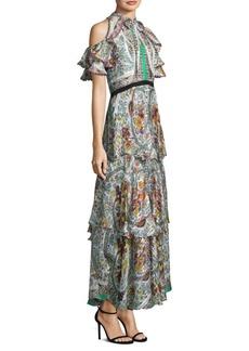 Garden Silk Gown