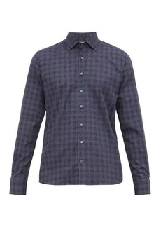 Etro Geometric paisley-print cotton shirt