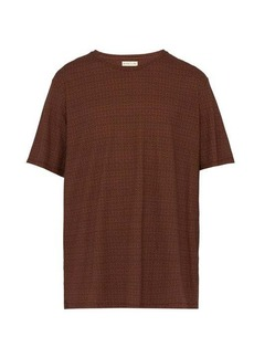 Etro Geometric paisley-print cotton T-shirt