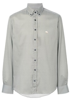 Etro geometric pattern shirt - Blue