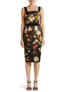 Etro Giannutri Floral Sleeveless Sheath Dress