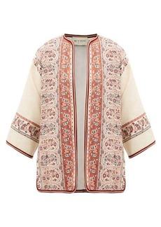 Etro Giglio embroidered-jacquard jacket