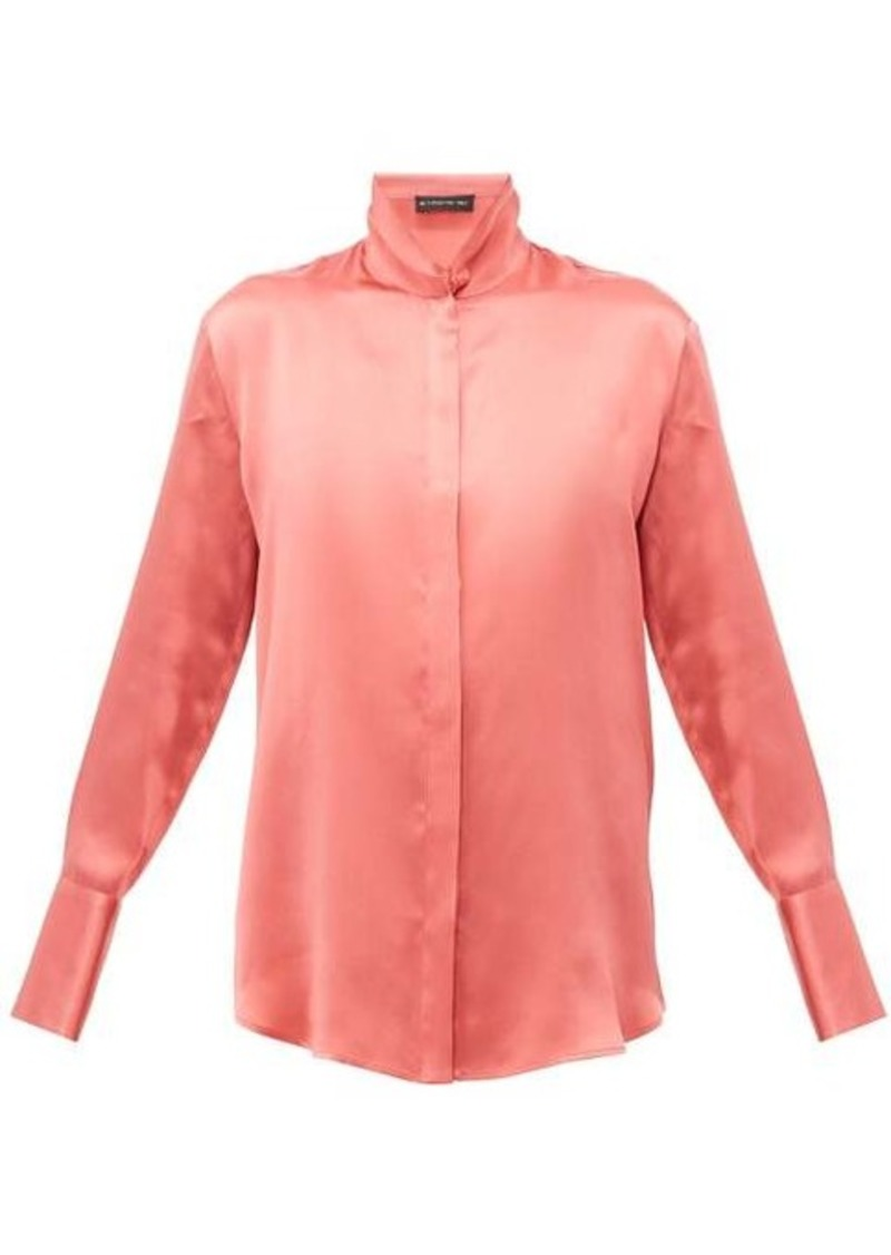 Etro Hampshire silk-satin shirt