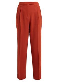 Etro High-rise peg-leg trousers