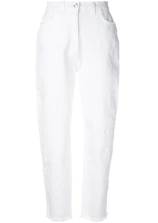 Etro high-waisted jeans - White