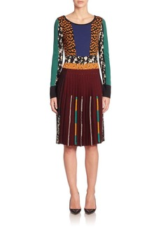 Etro Intarsia Knit Dress