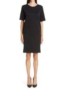 Etro Jacquard Knit Shift Dress