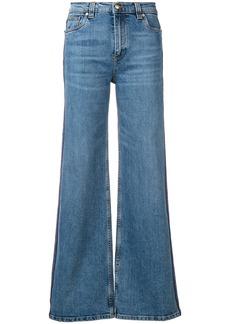 Etro Jacquard Ribbon jeans - Blue