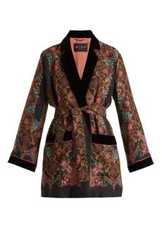 Etro Jade paisley-print kimono jacket