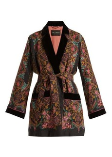 Etro Jade paisley-print kimono-style jacket