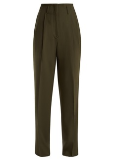 Etro Jade wide-leg wool-blend trousers