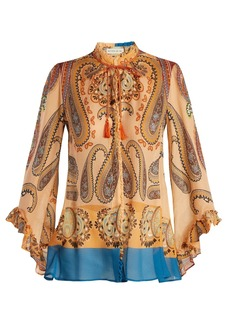 Etro Jasper paisley-print silk blouse