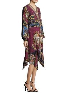 Jungle Paisley-Print Dress