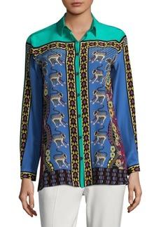 Etro Jungle Silk Shirt