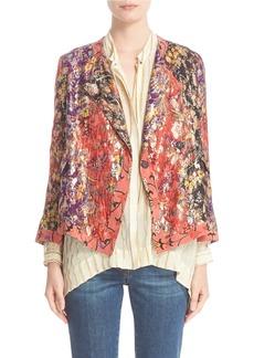 Etro 'Kimono' Floral Jacquard Jacket