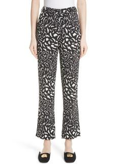 Etro Leopard Print Pants