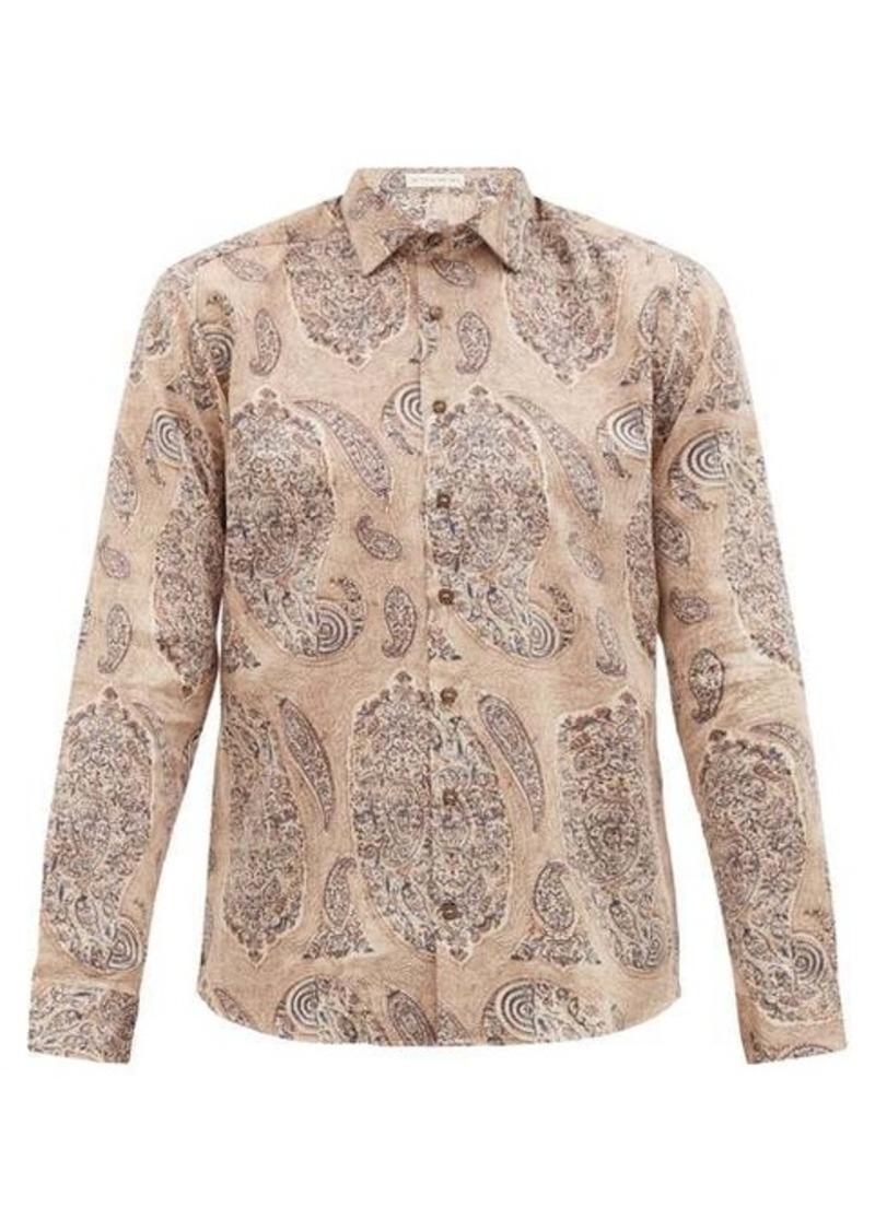 Etro Macro paisley-print cotton shirt