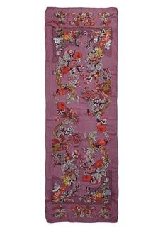 Etro Maharaja Embroidered Wrap Scarf