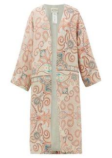 Etro Malva paisley-print silk robe