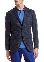 Etro Men's Cotton/Wool Paisley Sport Coat