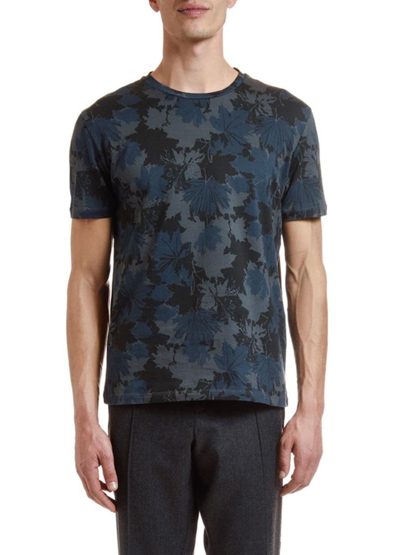 Etro Men's Floral Camo Crewneck T-Shirt