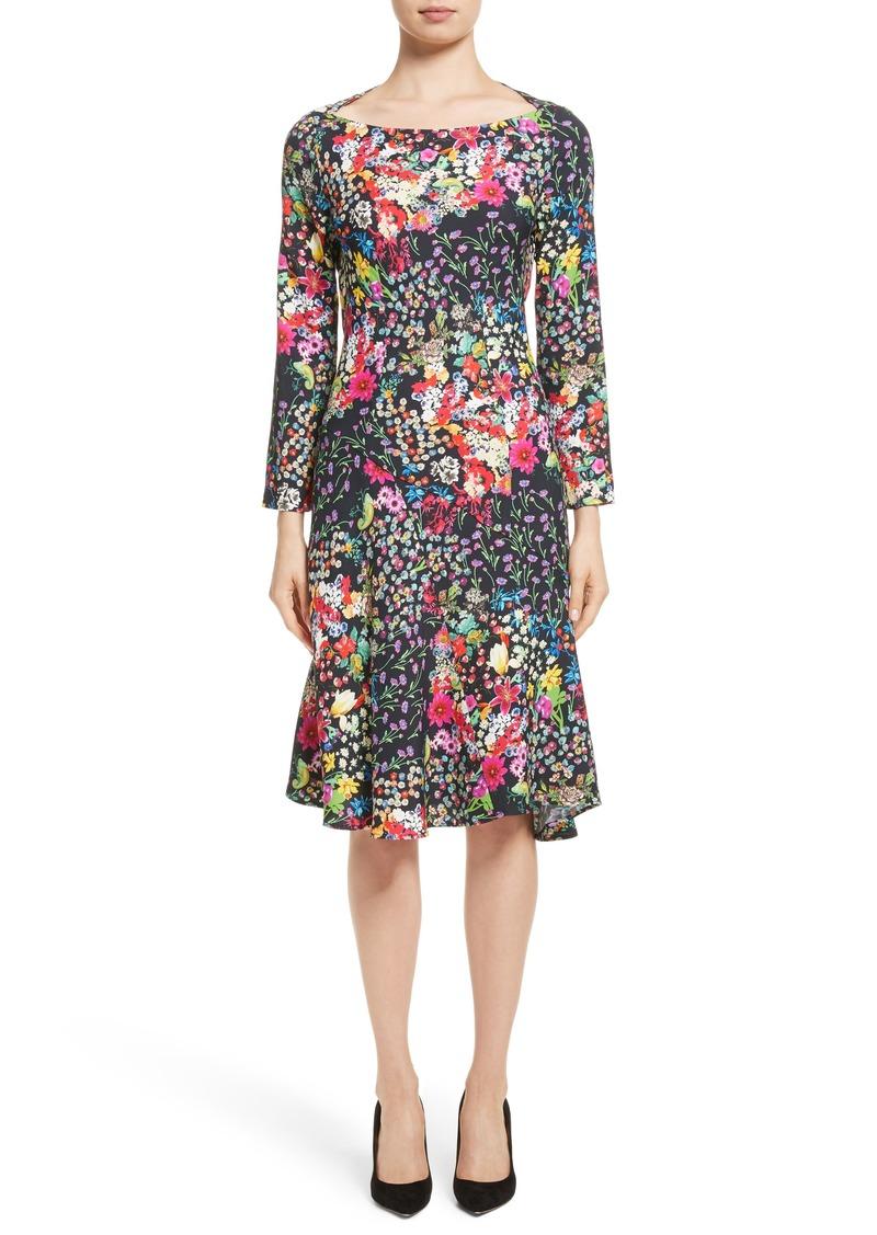 Etro Micro Fl Print Dress