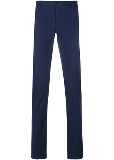 Etro micro pattern tailored trousers - Blue