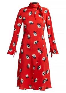 Etro Modlin floral-print silk-crepe dress