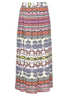 Etro Multi floral-print silk maxi skirt