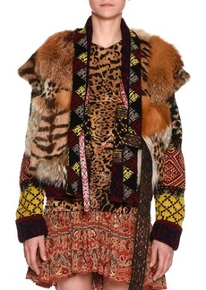 Etro Mixed-Fur Vest