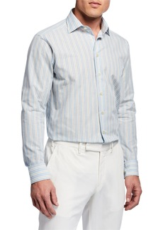 Etro Multicolored Check Sport Shirt