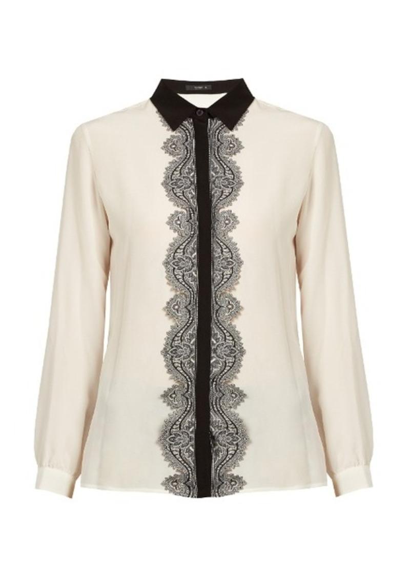 5e414f49340732 Etro Etro Paisley lace-placket silk shirt | Casual Shirts